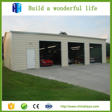 Garage building steel structure warehouse kit prefabricated house for sale