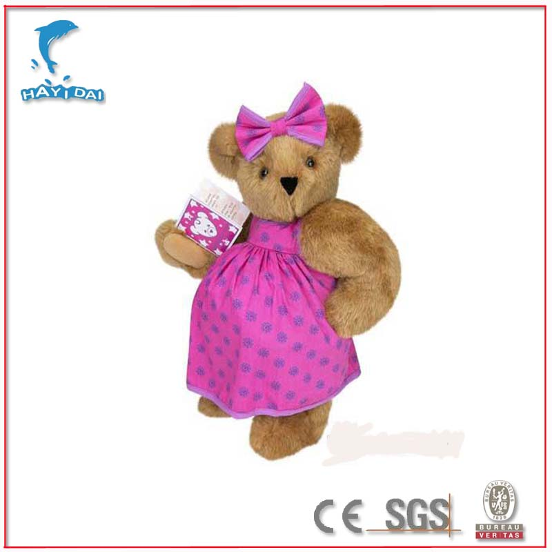 China manufacturer mother day plush toy