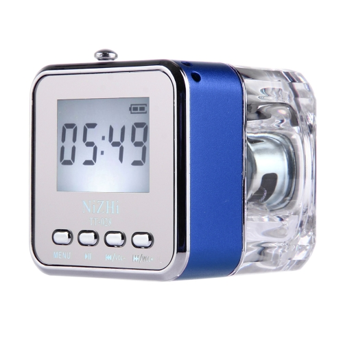 wholesale cheap hot selling 30% discount Multifunctional Mini Card Music Playback Speaker with LCD Display