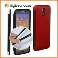With screen protector case cover for samsung galaxy n9005 note 3 iii