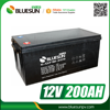 Bluesun deep cycle agm 12v 200ah ups inverter battery charger battery