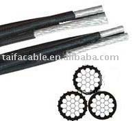 Bare Conductor Service Drop ABC cable(quadplex cable)