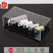 Toy car clear transparent small acrylic display box