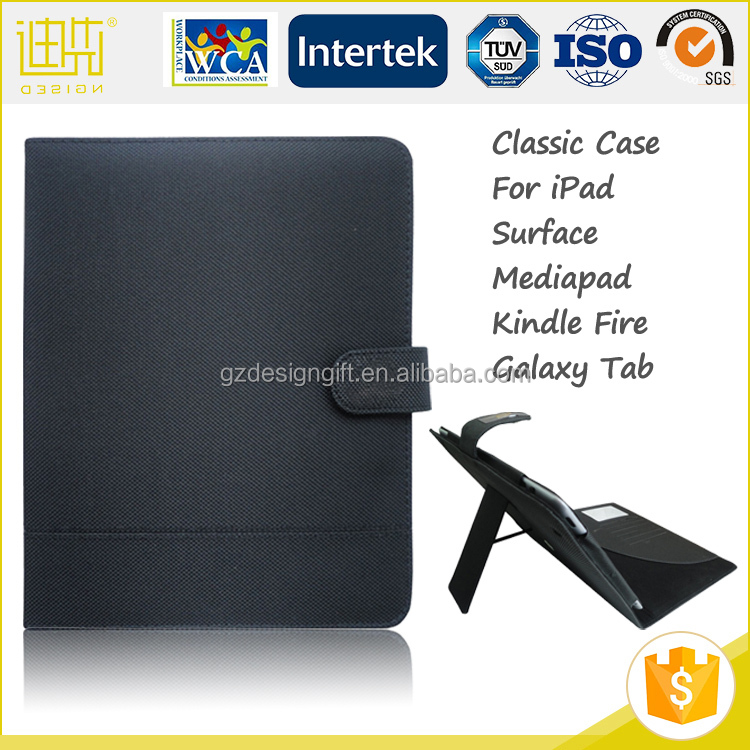 Folding Leather Tablet Cases For Apple iPad pro Stand Case,