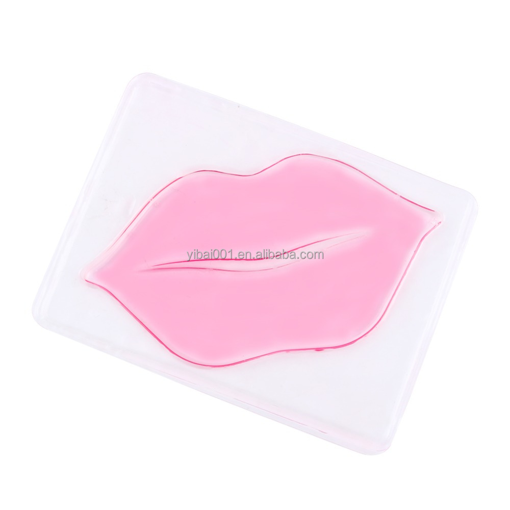 1 Pc Lip Plumper Collagen Lip Mask Collagen Protein Anti Aging Wrinkle Patch Pad Gel Membrane Moisture Repair Lip Mask Pads