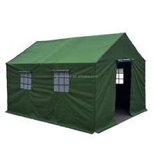 rescue military disaster relief tents,outdoor waterproof canvas refugee tent,wholesale Engineering Construction Site oxford ten