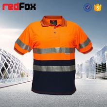 reflective safety fashion men beautiful t shirt