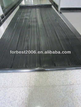 plastic solar water heater collectors PVC material collector