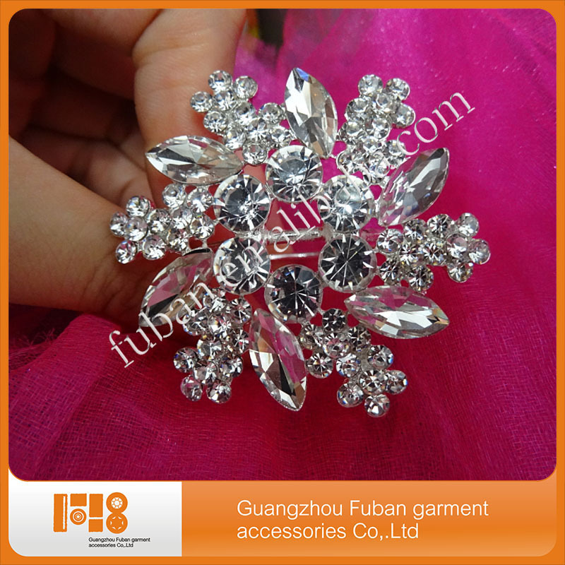 crystal diamond napkin ring for wedding decoration