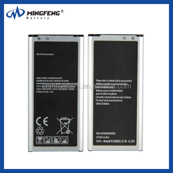 Original S5 mini battery for samsung lithium battery