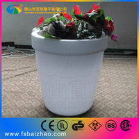 Smart Iphone/Ipad/Android control Attractive decoration LED flower pot
