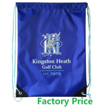 Factory Price polyester bag, nylon polyester drawstring bag