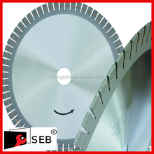 high quality 250mm arix segment 50Mn2V reduce noise body diamond saw blade for granite and marble