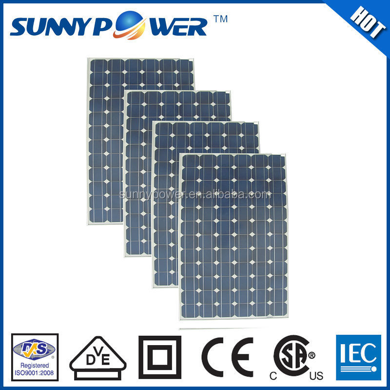Monocrystalline silicon cell? 240w solar pannels