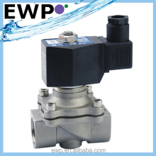Popular 2/2-way normally closed stainless steel solenoid valve 1'' 220V