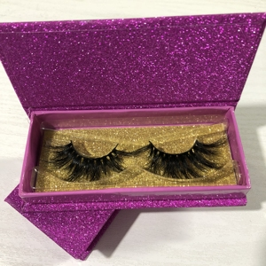 wholesale real natural mink eyelash extensions custom eyelash packaging box