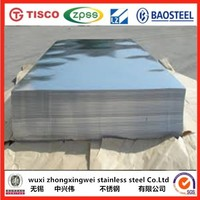 BA finish AISI 202 0.6mm thick stainless steel sheet for building