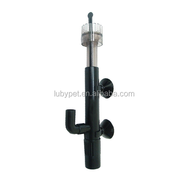 Aquarium Mini Water Surface Oil Skimmer for Hang On Filter Plant Tank