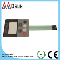 thin film waterproof membrane switch passive electronic components