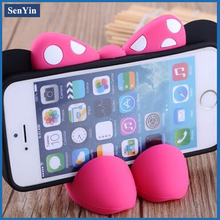 High Quality Fashionable 3D Animal Shape Velcro Cell Phone Case
