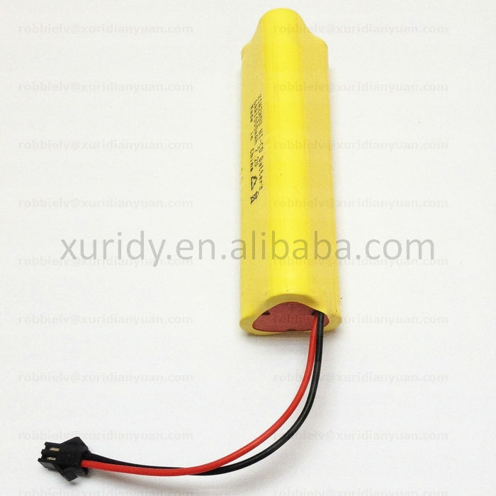 rechargeable battery pack 7.2 Volt for flashlight