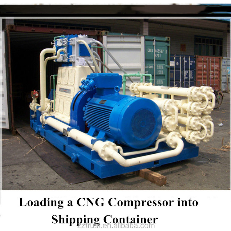 middle style Diaphragm Compressor / D type cng natural gas compressor / natural gas compressor high pressure