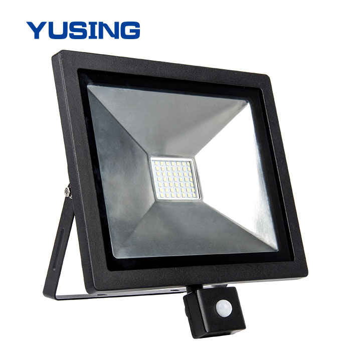 Outdoor Stadium Ultra Thin 50W Spotlight Fixtures 50 Watt LED Flood Light For Sale
