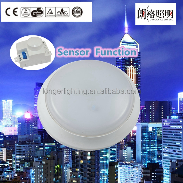IP54 led ceiling lights fixtures motion detector emergency available