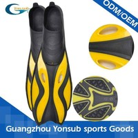 Professional high quality silicone rubber swimming fins diving flippers