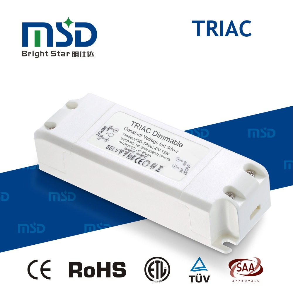 SAA and RoHS approval three years warranty tric 20W dimmable led driver 12V