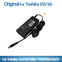 Shenzhen charger for toshiba charger adapter 75w 15v 5a PA3755U-1ACA