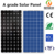 High efficiency solar panel 300watt mono crystalline silicon with 2.2Kw single phase solar pump inverter