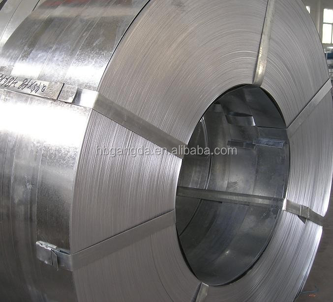 Q195 cold rolled hot dipped galvanized steel coil for paint bucket