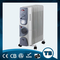 electric oil filled heater wall mounted