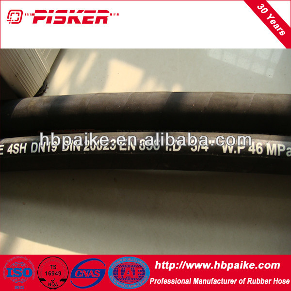 high pressure spiral steel wire reinforced hose 4SP 4SH R9 R12 R13 R15