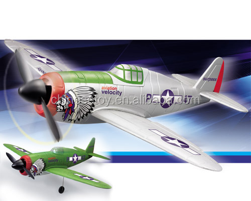 2.4Ghz 4CH R/C Plane P-47 Thunder RTF Brushed 2.4G air plane