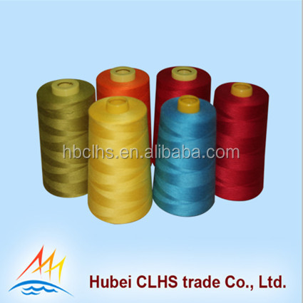 Cheap 100% TFO twist 40S/3 core dyeing Sewing Thread from China