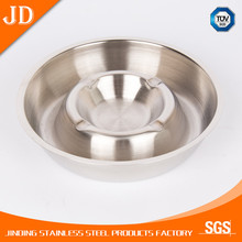 Round Antique Metal Stainless Steel Plated Ashtray