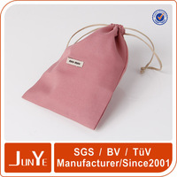 Fancy mobile drawstring gift pouches bag for girls