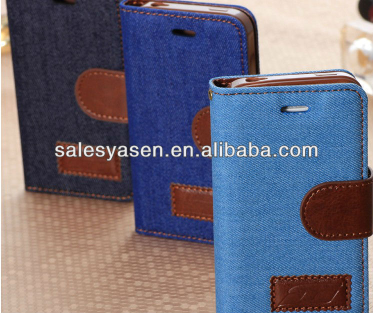 Hot selling women new high end leather case for iphone 5