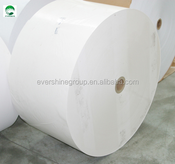 2014 evershine brand food grade 22g-80g white greaseproof paper roll