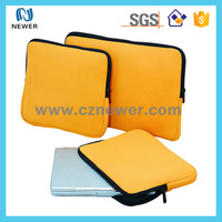 Factory custom cheap neoprene laptop sleeve computer bag