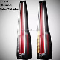 Factory outlet 2015-2016 Chevrol Tahoe Suburban taillight LED taillamp hottest model!!