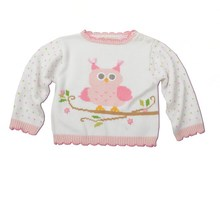 New design knitted kids pullover sweater child sweater
