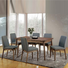 Modern Simplism Style Mdf Solid Wood Restaurant Chairs Hotel Furniture Table Chair