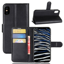 leather Wallet book style flip tpu phone cover for apple iphone8 case