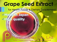 Japanese High Quality Grape Seed Extract Raw Material Liquid Made In Japan As Antioxidant For Cosmetics For Whitening