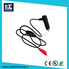 Tablet car adaptor dc plug 9v 2a car charger dc adapter