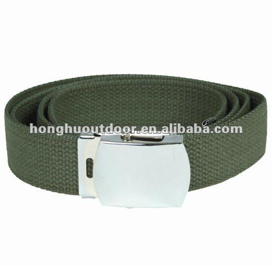 Tactical heavy metal belts Metal clasp elastic belt
