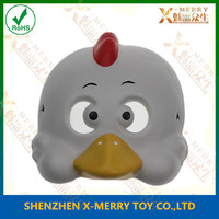 X-MERRY White Fur Yellow Mouth Little Chick Face mask ainimal mask kids party decoration